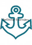 Anchor Applique 3 sizes