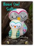 Basic Owl- ITH Softie Embroidery Design - 4x4 5x7 6x10 8x12 instant download
