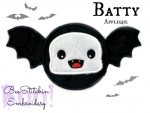 Batty Applique 3 sizes