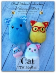 Cat Egg Softie ITH - 4x4 5x7 6x10 8x10