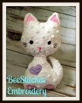 KatMeow ITH Cat softie 3 sizes