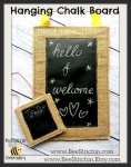 ITH Hanging Chalkboard - 6 sizes - 4x4, 5x7, 6x10, 7x10, 8x10 and 8x12