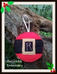 A-Z Christmas Bauble Felt Design 4x4