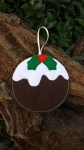 Pudding Bauble - 4x4