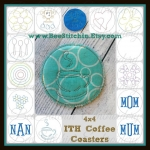 Bulk Pack - 13 in one - 4x4 ITH Coaster