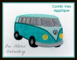 VW Combi Van Applique 3 sizes