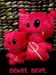 Deniel Devil Softie- 3 sizes