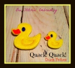 Duck Felties 2 sizes