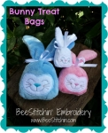 Easter Bunny Treat Bag 3 sizes