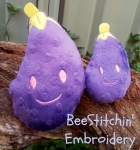ITH Eggplant Softie 2 sizes