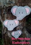 Elephant Head Clippies