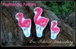 Flamingo Felties - 3 sizes