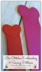 ITH Heart Bookmark 4x4 5x7