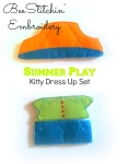 Summer Play Set - Miss Kitty & Tom Kitty