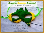 Aussie ITH Face Mask - 5x7 Embroidery Design