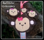 Monkey Bow Holder