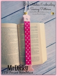Mr Dicky Pieced Bookmark - ITH Designs - 4x4 5x7