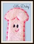 ADULTS Mr.Dicky Applique - 3 sizes