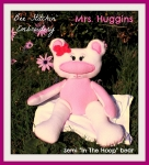 Mrs Huggins Semi ITH Bear 5x7