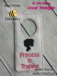 ITH 5x7 Princess Door Hanger