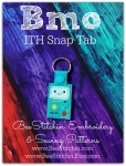 BMO ITH Snap Tab - 4x4 Embroidery Design