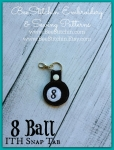 8 Ball ITH Snap Tab - 4x4