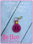 Button ITH Snap Tab - 4x4