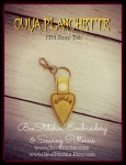 Ouija Planchette ITH Snap Tab - 4x4