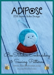4x4 ITH Doctor Who Adipose SnowGlobe Ornament