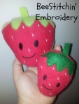 ITH Strawberry Softie 2 sizes