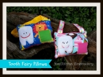 Boy & Girl Tooth Fairy Pillows 5x7