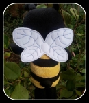 ITH 5x7 Dolls Wings - fits Cozy Kidz and more