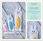 ITH Bunny Bookmark 3 sizes