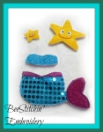 Miss Kitty Mermaid Set 5x7