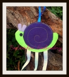 Snail bow Holder 5x7